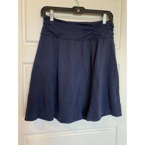 Athleta Navy Skirt Workout Athletic Ruched Waist S